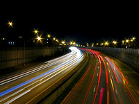 Highway Light Streaks