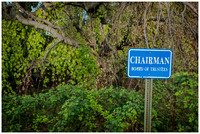 Chairman Sign at Greystone
