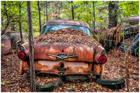 Rusted Ford Fairlane