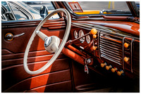 Painterly Vintage Auto Interior